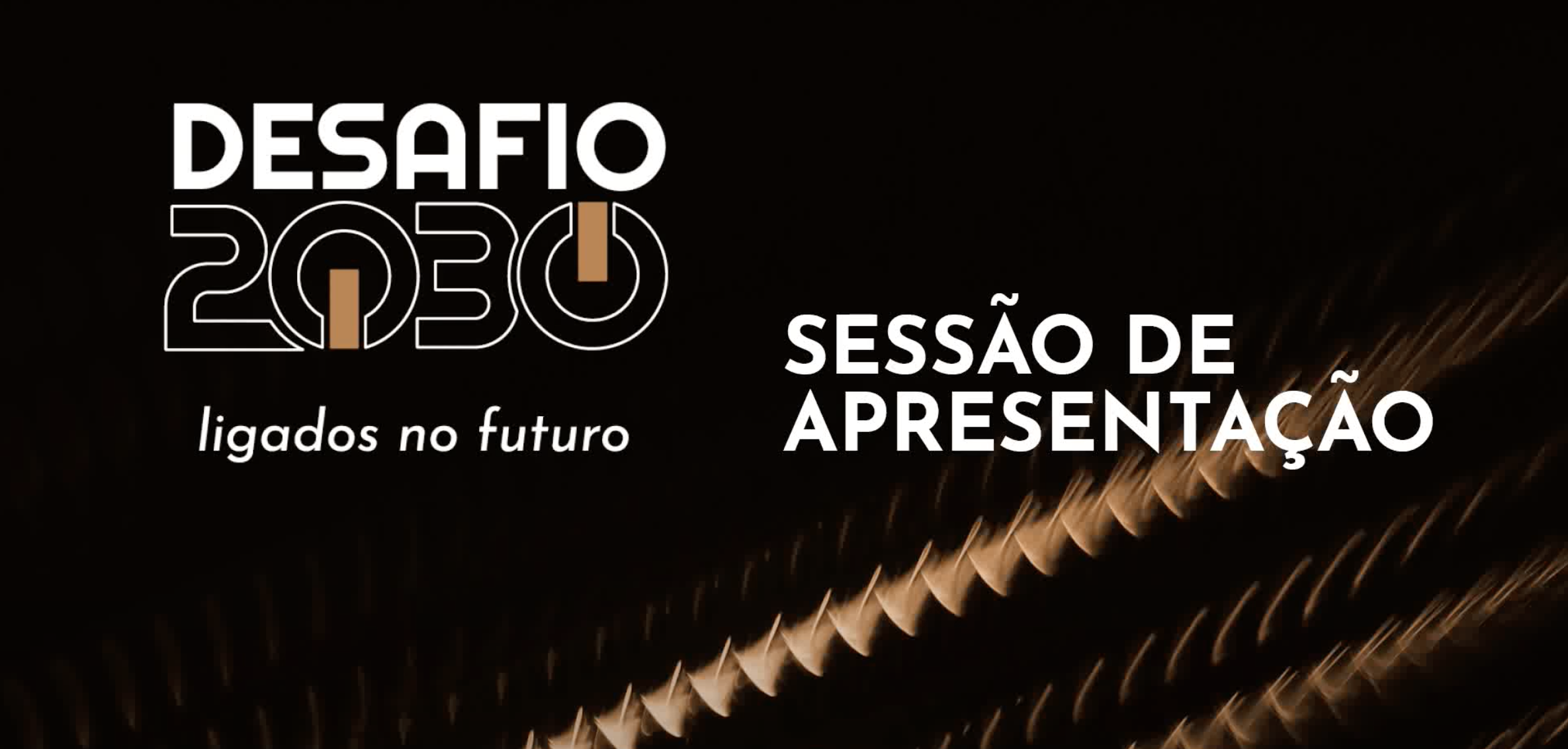 Sessão de apresentação do projeto DESAFIO 2030